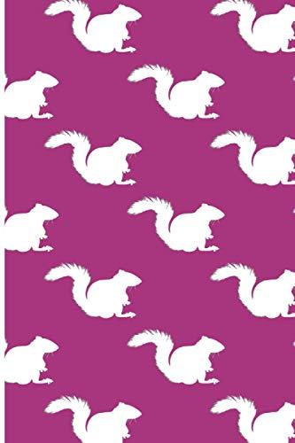 Terminplaner 2021: Terminkalender für 2021 mit Tiermuster Eichhörnchen Cover | Wochenplaner | elegantes Softcover | A5 | To Do Liste | Platz für Notizen | für Familie, Beruf, Studium und Schule
