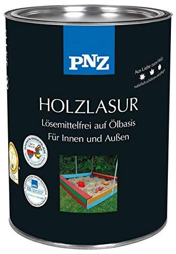 PNZ-Holz Lasur lösemittelfrei (0,25 L, Nr. 07 palisander rustikal)