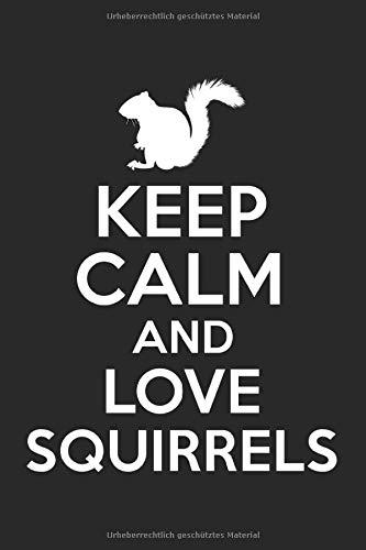 Terminplaner 2021: Terminkalender für 2021 mit Keep Calm Squirrels Cover | Wochenplaner | elegantes Softcover | A5 | To Do Liste | Platz für Notizen | für Familie, Beruf, Studium und Schule