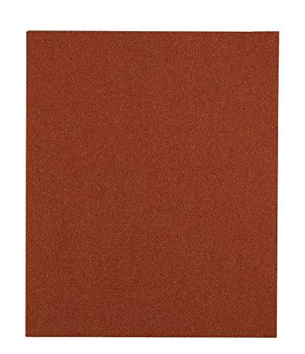 kwb 800424 Schleif-Papier Schleif-Bogen Flint für Holz, Farbe und Spachtel, 230 x 280 mm, verschweißt 5 Stk. Korn K-240